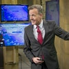 KSTP's newly named chief meteorologist Ken Barlow worked on the morning forecast live from the news station.