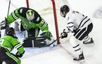 Goalie Adam Scheel and North Dakota keep rolling along.