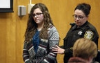 Anissa Weier was led into court for her sentencing hearing in December 2017 in Waukesha, Wis.