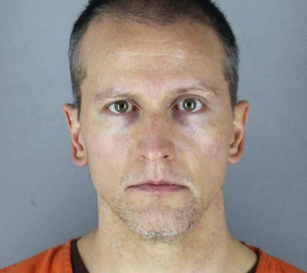 Derek Chauvin. (Hennepin County Sheriff's Office/TNS) ORG XMIT: 10025078W