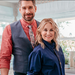 """Interior designer Dan Vickery and Maureen Mccormick of """"The Brady Bunch"""" star in """"Frozen in Time."""""""