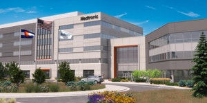 Medtronic plans to build a nearly 600,000-square-foot campus north of Denver to accommodate the area's 2,000 current employees.