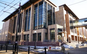 The MDA/MDH Lab Building located at the corner of Robert and 12th streets in St. Paul.