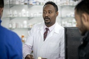 Independent pharmacist Elias Usso was able to reopen his remodeled Seward Pharmacy near E. Lake Street and Hiawatha Avenue.