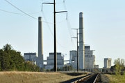 Xcel Energy's Sherco Power Plant in Becker, Minn., in 2010. Xcel has converted major coal plants to gas in the Twin Cities, and it plans to close it