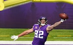 The Vikings released tight end Kyle Rudolph earlier this week.