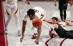 Much like Saturday's game as a whole, Minnesota center Sam Freeman chased a loose ball just out of his reach.