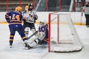 Stillwater girls' hockey rides three-goal second to win over Cretin-Derham Hall