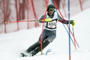 Minneapolis Washburn's Luke Conway raced in the 2020 Alpine skiing state meet. This year's meet begins Wednesday and kicks off the winter tourname