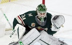 Wild goalie Kaapo Kahkonen is getting the start Monday vs. the Golden Knights.