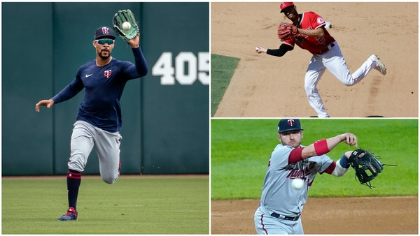 Glove wizards: Buxton, Simmons, Donaldson can help Twins save runs