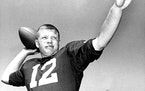 Former Gophers quarterback Duane Blaska (1961 photo)