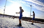 Minnesota prep skiing state meets kick off slushy start to tournament season