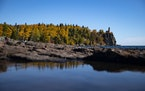 FILE-Split Rock Lighthouse in Two Harbors, Minn. The state park there is adding a drive-in campground.