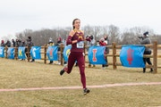 Gophers distance runner Bethany Hasz will race in the 5,000 meters Friday night at the NCAA indoor track and field championships in Fayetteville, Ark.