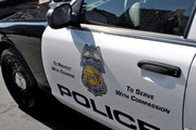 Minneapolis police are investigating after two groups of people shot at each other late Monday near a south Minneapolis intersection and the gunfire e