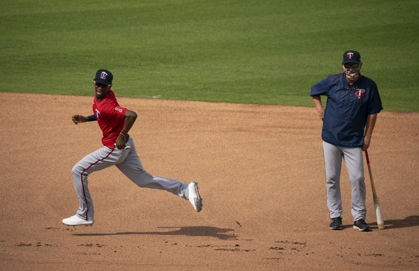Nick Gordon was showing off his speed last month during a base-running drill at spring training in Fort Myers.