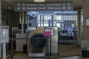 An empty terminal at the St. Cloud Regional Airport on March 1. A new regional airport authority may unlock federal aid.