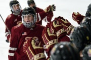Three-goal second period leads Lakeville South upset of Maple Grove