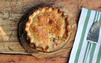 Meredith Deeds • Special to the Star TribuneAll your favorite Irish ingredients are in one pot pie with Ham, Cabbage and Potato Pie with an Irish Ch