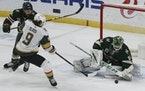Kaapo Kahkonen will be back in net Wednesday when the Wild takes on the Golden Knights.
