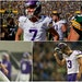 Vikings kickers under Mike Zimmer include (clockwise from top left): Dan Bailey, Daniel Carlson, Blair Walsh and Kai Forbath.