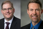 Dr. Nick Van Deelen and Eric Lohn have been named co-presidents and co-CEOs of Duluth-based St. Luke's. They have led the health system on an interi