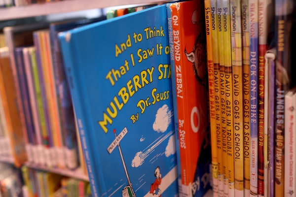 "Books by Dr. Seuss, including ""On Beyond Zebra!"" and ""And to Think That I Saw it on Mulberry Street,"" have been removed from publication by th"