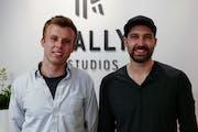 Jay Christensen (left) and Anthony Jaska of Rally Studios.