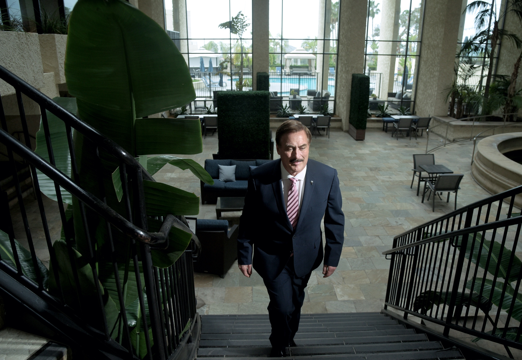 """Mike Lindell calls his fight a """"divine appointment"""" to preserve the integrity of voting in America."""