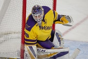 Minnesota State Mankato goalie Dryden McKay has posted eight shutouts this season.