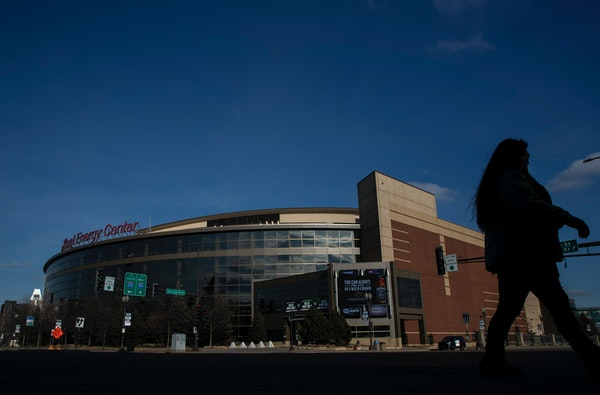The Wild's game at Xcel Energy Center on March 15, 2020, was canceled, signaling the start of a sports shutdown in the Twin Cities.