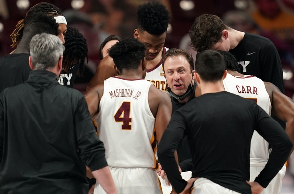Richard Pitino just completed his eighth season as Gophers men's basketball coach with a losing record.