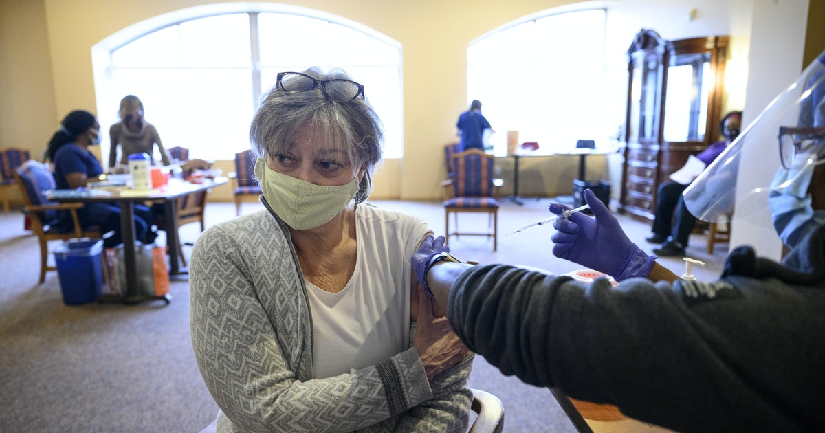 Minnesota virus cases creep up as vaccinations hit 1.2 million - Minneapolis Star Tribune