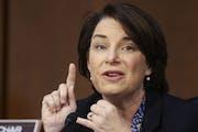 U.S. Sen. Amy Klobuchar, D-Minn., is hoping for bipartisan support of legislation expanding access to broadband.