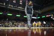 Richard Pitino stood on the elevated Williams Arena court during a scrimmage in October 2017. The Barn might be revered by some fans, but the coaches