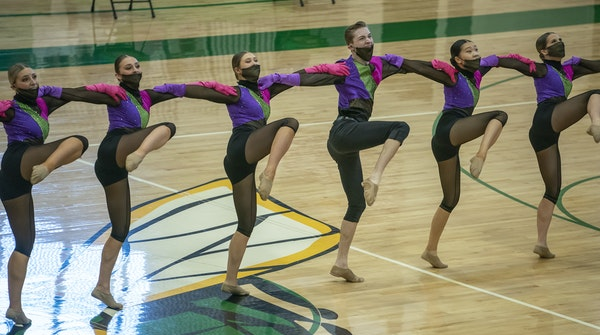 The Eastview dance team performed Saturday at the state high-kick tournament, placing first for the fifth time since 2014.