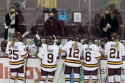 Maura Crowell and Minnesota Duluth take an 11-6 record into the NCAA quarterfinals.