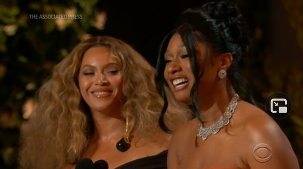 Beyonce makes history at Grammy Awards