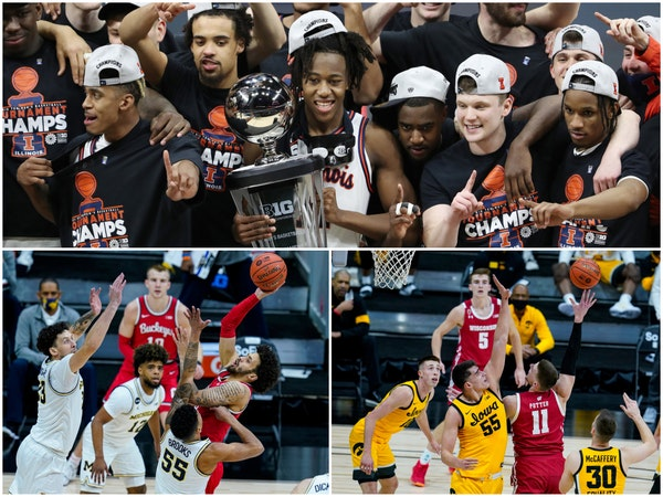 Illinois leads nine Big Team teams into the NCAA men's basketball tournament. Michigan, Ohio State, Iowa and Wisconsin are the other teams with a go