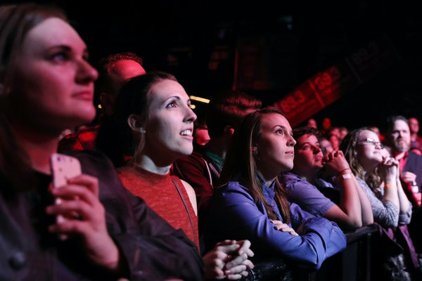 Fans at 89.3 the Current's 12th annual birthday party at First Avenue in Minneapolis in 2017.