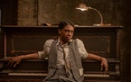"Chadwick Boseman as Levee in ""Ma Rainey's Black Bottom."""