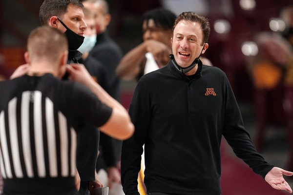 Richard Pitino finished his Gophers career with a 54-96 record in Big Ten play.