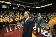 Richard Pitino in 2013 when, at age 30, he was introduced as the Gophers head coach.