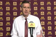 Minnesota athletic director Mark Coyle met virtually with media on Tuesday to address the firing of men's basketball coach Richard Pitino.