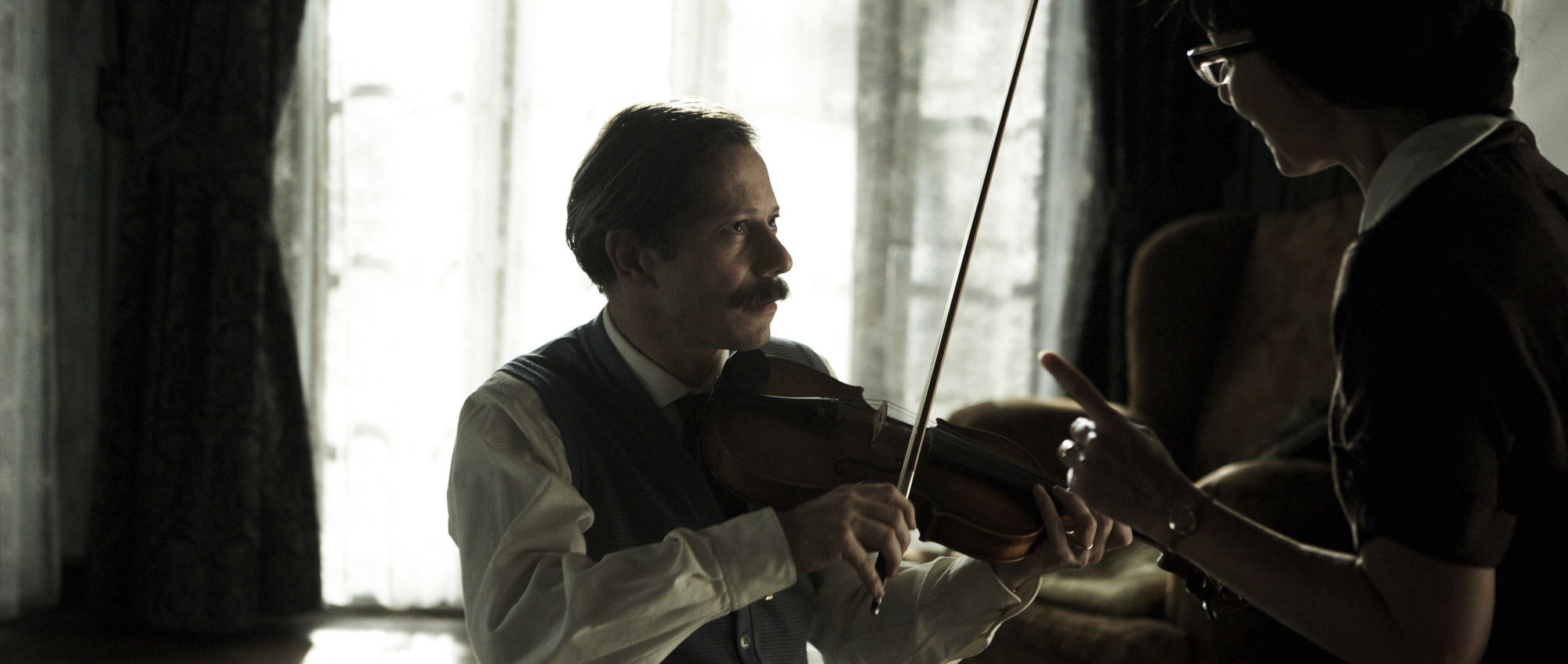 Mathieu Amalric in 'Chicken With Plums.'