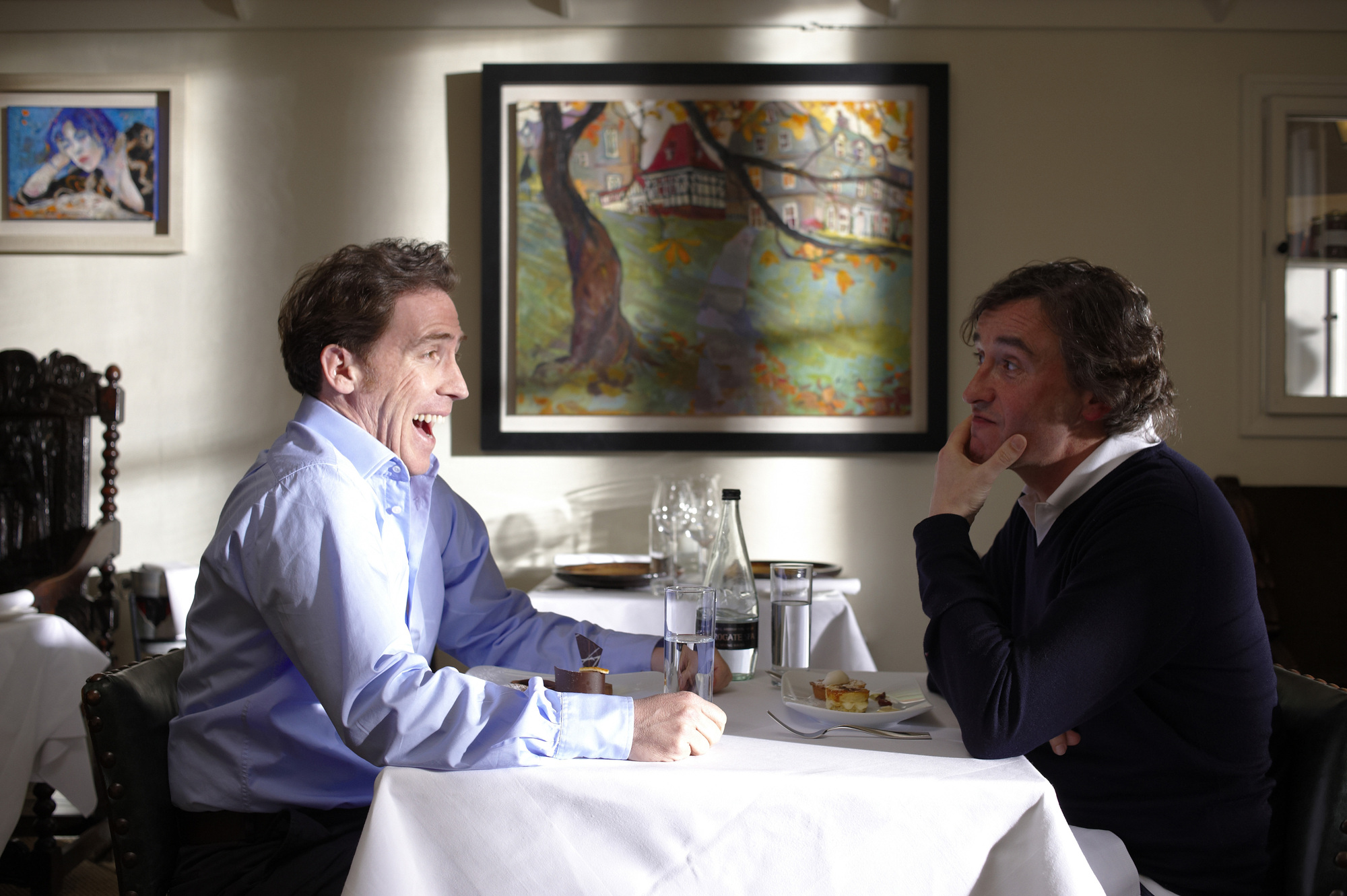 Rob Brydon and Steve Coogan in 'The Trip.'