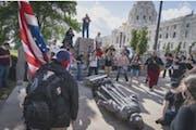 Minnesota Senate panel votes to put Columbus statue back up at Capitol