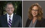 The Minnesota State college system's board of trustees named Edward Inch president of Minnesota State University, Mankato and Deidra Peaslee preside