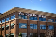 Globe University, Woodbury, shown in a 2015 photo by GLEN STUBBE * gstubbe@startribune.com